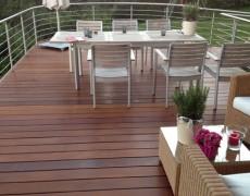 Terrasse – Schiffform